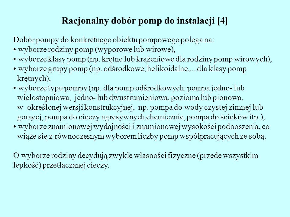 Racjonalny dobór pomp do instalacji [4]